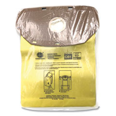 Hoover® Commercial Disposable Closed Collar Vacuum Bags, Allergen CB1, 10/Pack