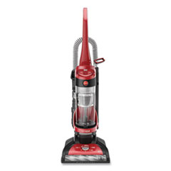 """Hoover® Commercial WindTunnel Max Bagless Upright Vacuum, 13"""" Cleaning Path, Orange/Black"""