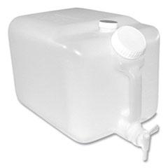 Impact® E-Z Fill Five-Gallon Container, Translucent
