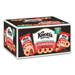 Knott's Berry Farm® Premium Berry Jam Shortbread Cookies, Strawberry, 2 oz, 36/Carton