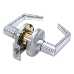 Tell® Heavy Duty Commercial Privacy Lever Lockset, Satin Chrome Finish