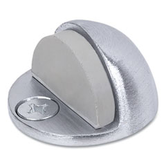 Tell® Low Dome Floor Stop, 2 x 2 x 2, Satin Chrome