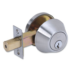 Tell® Single Cylinder Deadbolt, Stainless Steel Finish