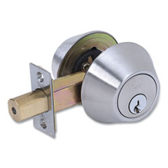 Tell® Double Cylinder Deadbolt, Stainless Steel Finish
