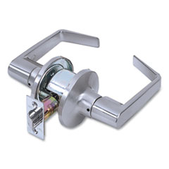 Tell® Light Duty Commercial Passage Lever Lockset, Satin Chrome Finish