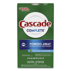 Cascade® Complete Automatic Dishwasher Powder, Fresh Scent, 90 oz