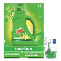 Gain® Liquid Laundry Detergent, Original Scent, 105 oz Bag-in-Box