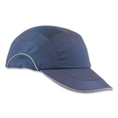 "PIP HardCap A1+ Baseball Style Bump Cap, 2.75"" Brim, Navy Blue"