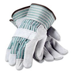 PIP Bronze Series Leather/Fabric Work Gloves