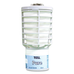 Rubbermaid® Commercial TCell Air Freshener Dispenser Oil Fragrance Refill, Pure Scent, 1.62 oz, 6/Carton