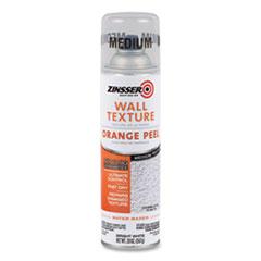 Zinsser® Water-Based Orange Peel Texture Spray, Interior, Medium Texture, Bright White, 20 oz Aerosol Can