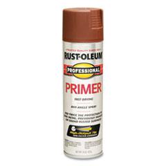 Rust-Oleum® Professional Primer Spray, Flat Red, 15 oz Aerosol Can