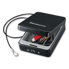 Sentry® Safe P005C Portable Combination-Lock Security Safe, 0.05 cu ft, 5.9 x 8 x 2.6,  Black