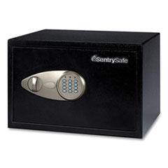 Sentry® Safe X055 Digital Security Safe, 0.58 cu ft, 13.8 x 10.6 x 8.7, Black/Silver