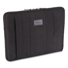 """Targus® CitySmart Laptop Sleeve, For 13.3"""" Laptops, 14.1 x 2 x 10, Black"""