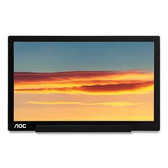 """AOC 1601C Portable LCD Monitor, 15.6"""" Widescreen, IPS Panel, 1920 Pixels x 1080 Pixels"""