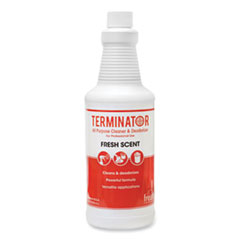 Fresh Products Terminator All-Purpose Cleaner/Deodorizer, 32 oz Refill Bottles, 12/Carton