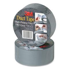 "3M™ 3903 Vinyl Duct Tape, 3"" x 50 yds, Gray"