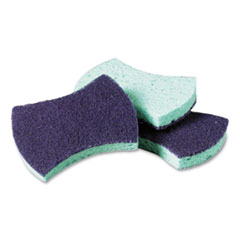Scotch-Brite™ PROFESSIONAL Power Sponge, 2.8 x 4.5, Blue/Teal, 20/Carton