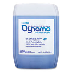 Dynamo® Laundry Detergent Liquid, Fresh Scent, 5 Gallon Pail