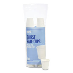 Perk™ White Paper Hot Cups, 3 oz, 100/Pack