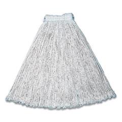 Rubbermaid® Commercial Cut-End Cotton Wet Mop Heads, #24, White