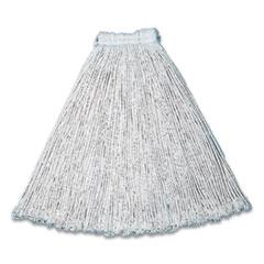 Rubbermaid® Commercial Cut-End Cotton Wet Mop Heads, 15 x 6, White