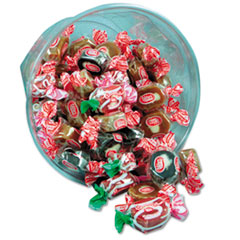 Office Snax® Goetze's Caramel Creams, Lt & Dark Caramel Candy, One 24oz Bowl
