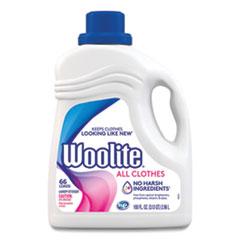 WOOLITE® Laundry Detergent for All Clothes, Light Floral, 100 oz Bottle, 4/Carton