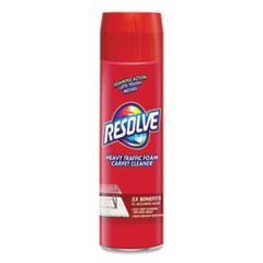 RESOLVE® Foam Carpet Cleaner, Foam, 22 oz Aerosol Spray, 12/Carton