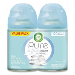 Air Wick® Freshmatic Ultra Spray Refill, Fresh Linen, Aerosol, 5.89 oz, 2/Pack, 3 Packs/Carton