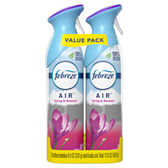 Febreze® AIR, Spring and Renewal, 8.8 oz Aerosol Spray, 2/Pack