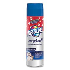 RESOLVE® Pet High Traffic Foam Carpet and Upholstery Cleaner, 22 oz Aerosol Spray, 12/Carton