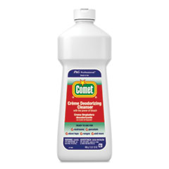Comet® Creme Deodorizing Cleanser, 32 oz Bottle, 10/Carton