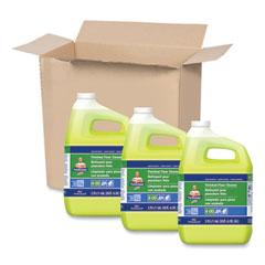 Mr. Clean® Finished Floor Cleaner, Lemon Scent, 1 gal Bottle, 3/Carton
