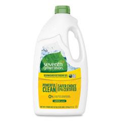 Seventh Generation® Natural Automatic Dishwasher Gel, Lemon, 42 oz Bottle, 6/Carton