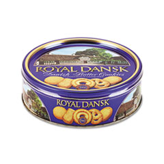 Royal Dansk® Cookies, Danish Butter, 12oz Tin
