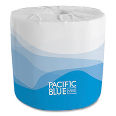 Georgia Pacific® Professional Pacific Blue Select Embossed Bathroom Tissue in Dispenser Box, Septic Safe, 2-Ply, White, 550 Sheets/Roll, 40 Rolls/Carton