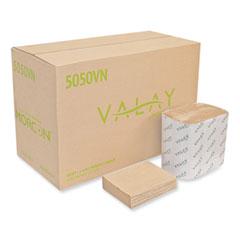 Morcon Tissue Valay Interfolded Napkins, 1-Ply, 6.3 x 8.85, Kraft, 6,000/Carton