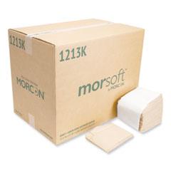 Morcon Tissue Morsoft Dispenser Napkins, 1-Ply, 11.5 x 13, Kraft, 250/Pack, 24 Packs/Carton