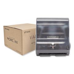 Morcon Tissue Valay 10 Inch Roll Towel Dispenser, 13.25 x 9 x 14.25, Black