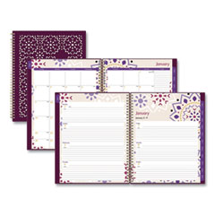 Blue Sky® Stencil Cover Weekly/Monthly Planner, 11 x 8.5, Gili, 2022