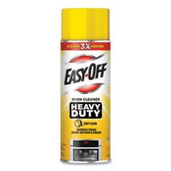EASY-OFF® Heavy Duty Oven Cleaner, Fresh Scent, Foam, 14.5 oz Aerosol Spray, 6/Carton
