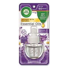 Air Wick® Scented Oil Refill, Lavender and Chamomile, 0.67 oz, 8/Carton