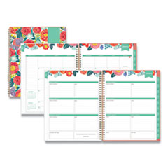 Blue Sky® Day Designer Frosted Cover Weekly/Monthly Planner