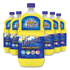 Fabuloso® Antibacterial Multi-Purpose Cleaner, Sparkling Citrus Scent, 48 oz Bottle, 6/Carton