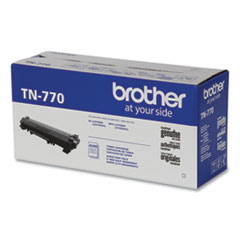 Brother TN770 Super High-Yield Toner, 4,500 Page-Yield, Black