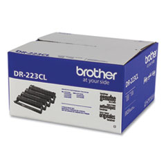 Brother DR223CL Drum Unit, 18,000 Page-Yield, Black/Cyan/Magenta/Yellow