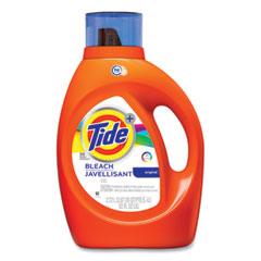 Tide® Liquid Laundry Detergent plus Bleach Alternative, HE Compatible, Original Scent, 92 oz Bottle, 4/Carton