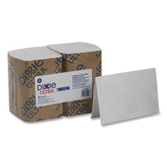 Dixie® Ultra® Interfold Napkin Refills, 2 Ply, 6 1/2x9 7/8, White, 500/Pk, 6 Pack/Ctn
